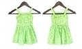 ZARA Floral Green Dress 花朵童裙