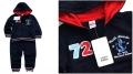 ZARA No.72 Dark Blue 2 Pcs Set 女男童贴布数字套装