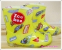 ZOO REE Cars Yellow Rain Boot 黄色小车雨鞋