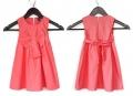 Zara Big Butterfly Knot Pink Dress 女童可爱蝴蝶结连衣裙背心裙