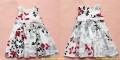 Zara Elegant Floral White Dress 新款优雅花朵背心裙