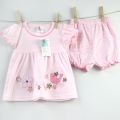 Pretty Kibo Lovely Bird Pink 2pcs Set 粉色小鸟套装